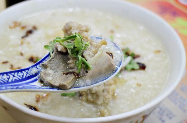 祖傳豬肉粥,伊麵,馬來西亞豬肉粥,海南風味豬肉粥,