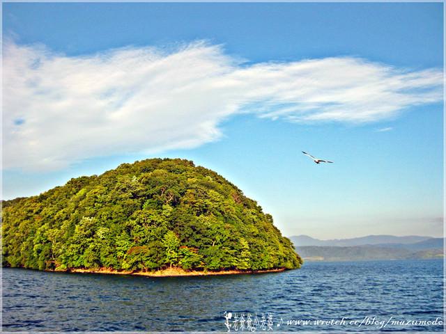 儷人夕陽,北海道洞爺湖遊覽船