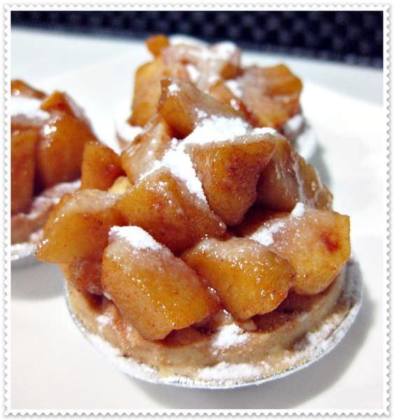 焦糖肉桂蘋果塔