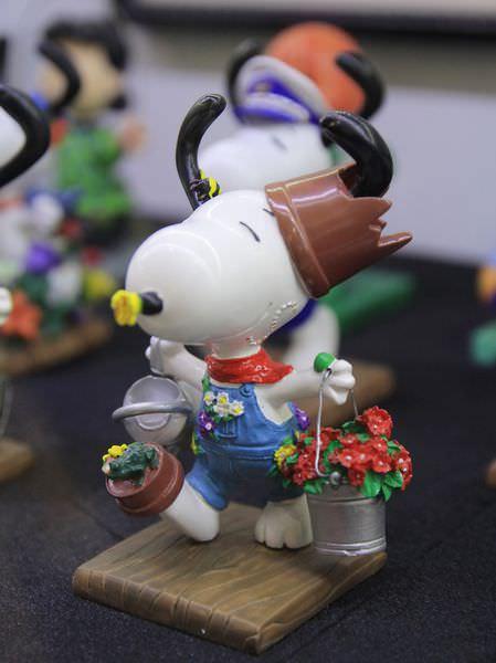 Snoopy 65週年巡迴特展,走進花生漫畫,獨家邀請史努比妹妹Belle(貝兒),台北松山文創園區,