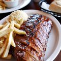 Tont Romas,美式大肋排,豬肋排,美式大漢堡,洋蔥磚,