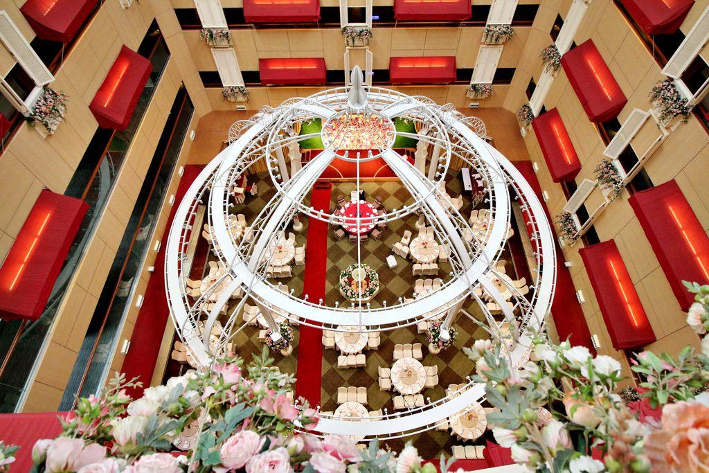 新莊翰品酒店,夢幻婚禮,新莊婚禮場地,新房,